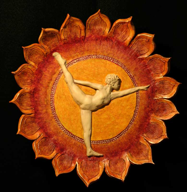 """Dance Pose"" - wall sculpture by Gregory Fields"