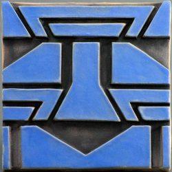 African Tile - Blue