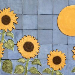 Sunflowers Mural - by Gregory Fields at Fieldscapes