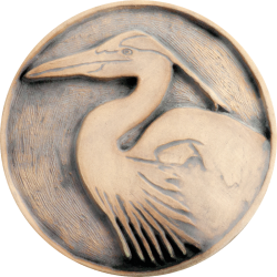 Logo - Blue Heron from Fieldscapes