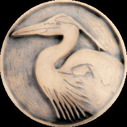 Logo - Blue Heron from Fieldscapes