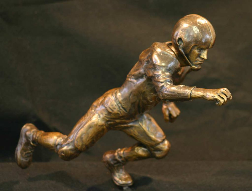 """Bohart Trophy"" - sculpture commission by Gregory Fields"