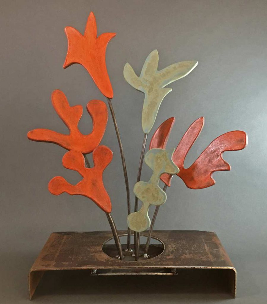 """Bouquet"" - sculpture by Gregory Fields"