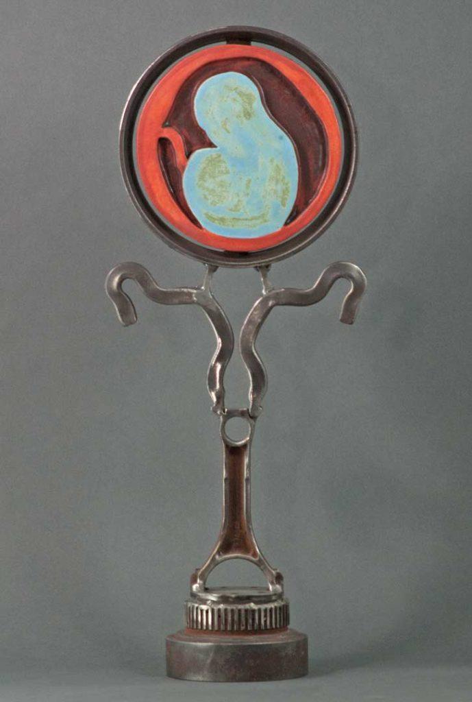 """""""Genesis"""" - sculpture by Gregory Fields"""