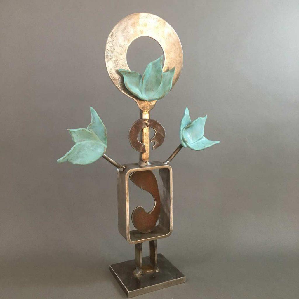 """""""Joy"""" - sculpture by Gregory Fields"""