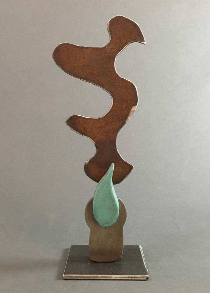 """Small Flame"" - sculpture by Gregory Fields"