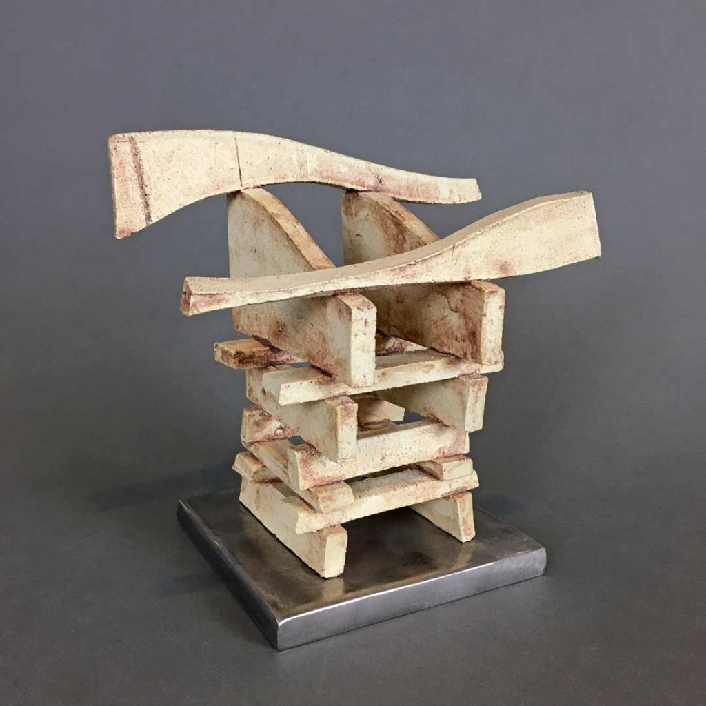 """Structure"" - sculpture by Gregory Fields"