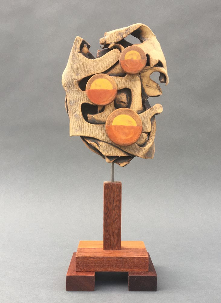 """Triple Dawn"" - sculpture by Gregory Fields"