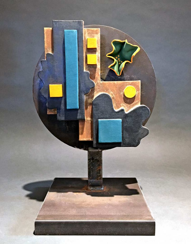 """Undecided"" - sculpture by Gregory Fields"