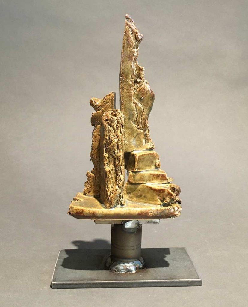 """""""Upward"""" - sculpture by Gregory Fields"""