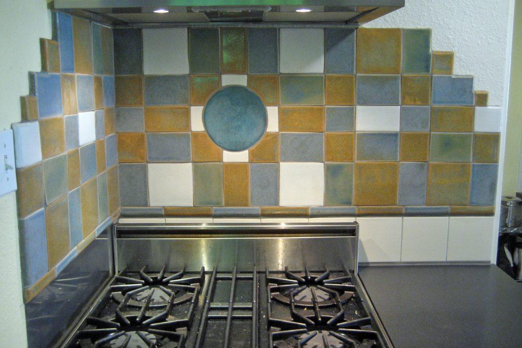 Kitchen backsplash by Gregory Fields