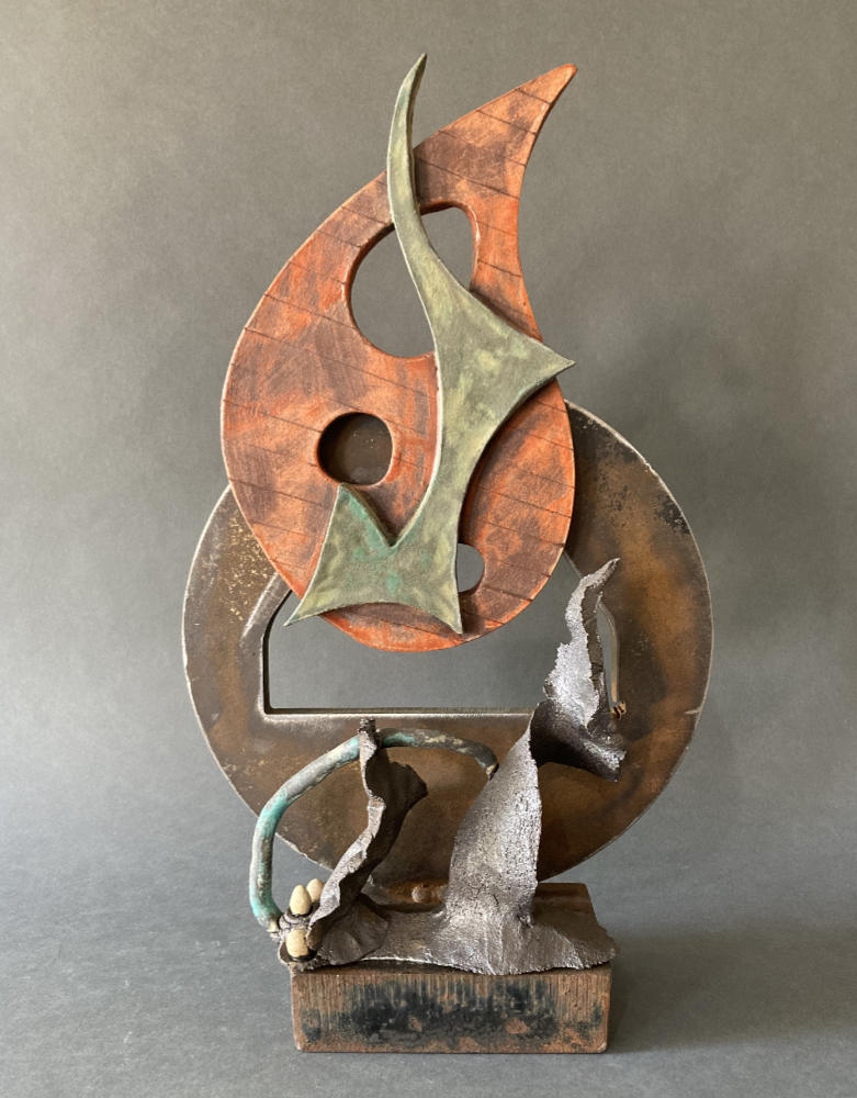 Born from Fire - a sculpture by Gregory Fields