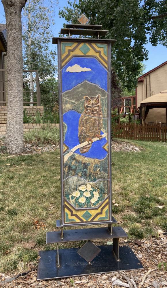 """Great Horned Owl"" by Gregory Fields"